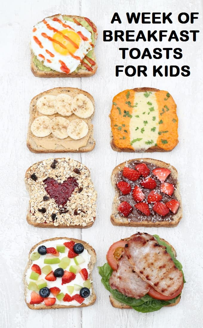 7 Healthy & Filling Breakfast Toasts - My Fussy Eater ...