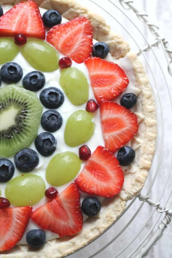 Fresh Fruit Tart Shortcrust Pastry
