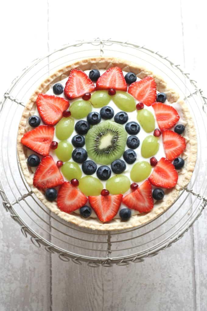 Fresh Fruit Tart Shortcrust
