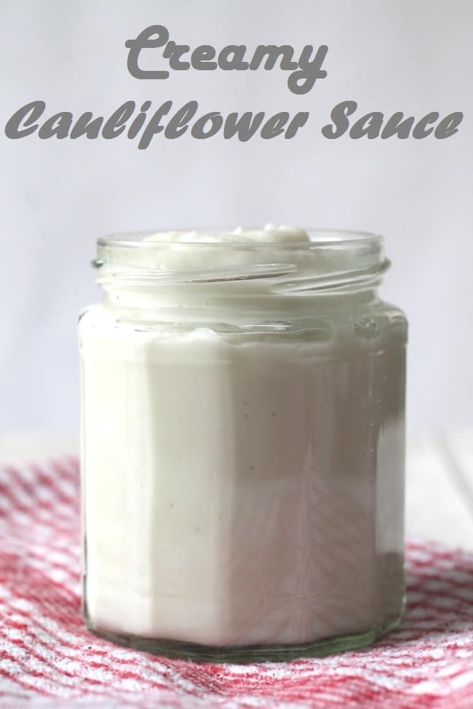 vegan cauliflower sauce