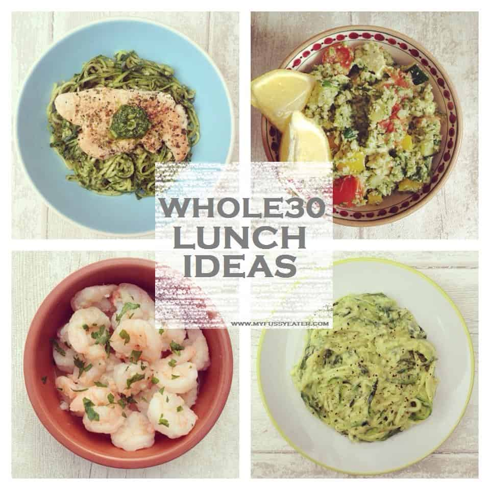 Whole 30 lunch recipes