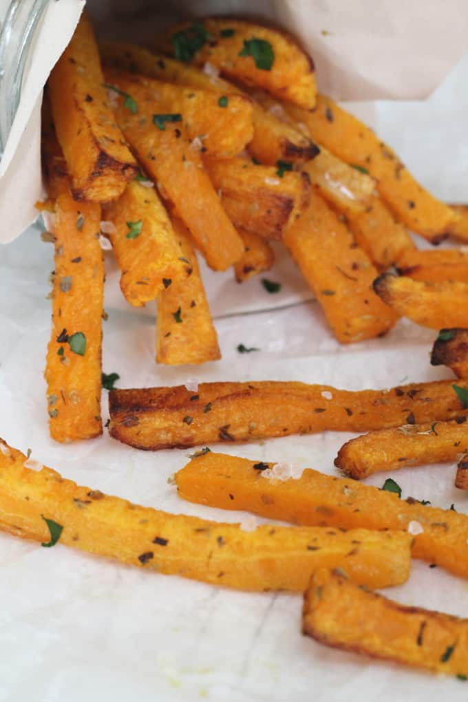 Butternut Squash Fries - My Fussy Eater