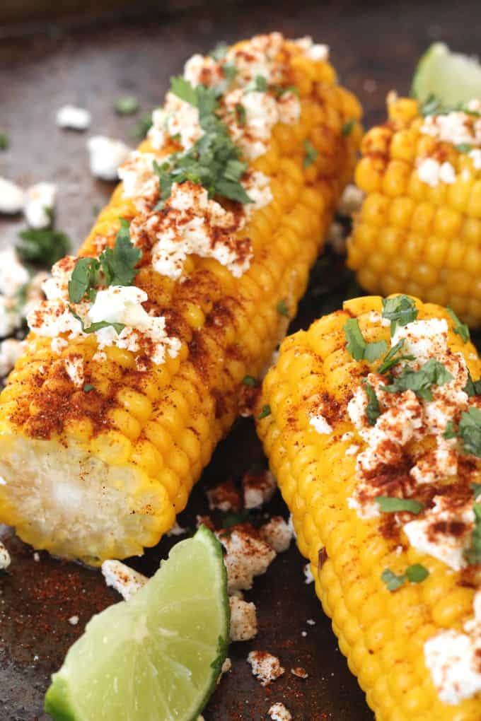Mexican Corn On The Cob - My Fussy Eater