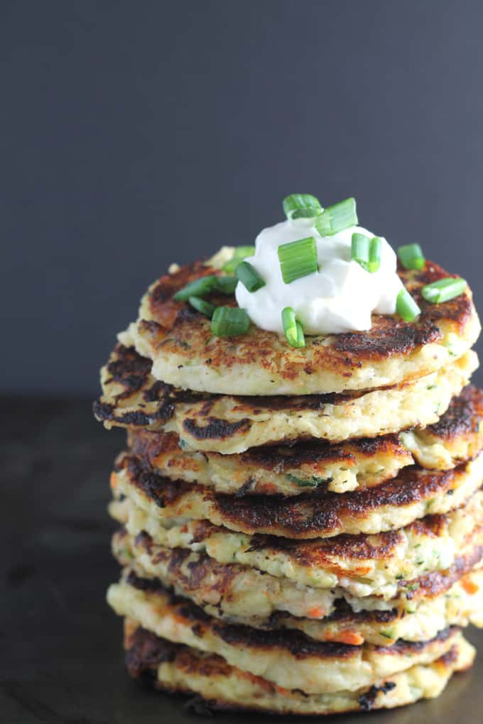 leftover vegetable fritters