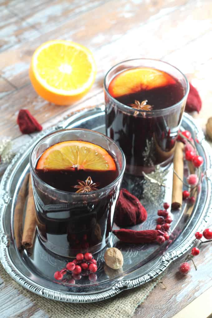 clean eating mulled wine syrup