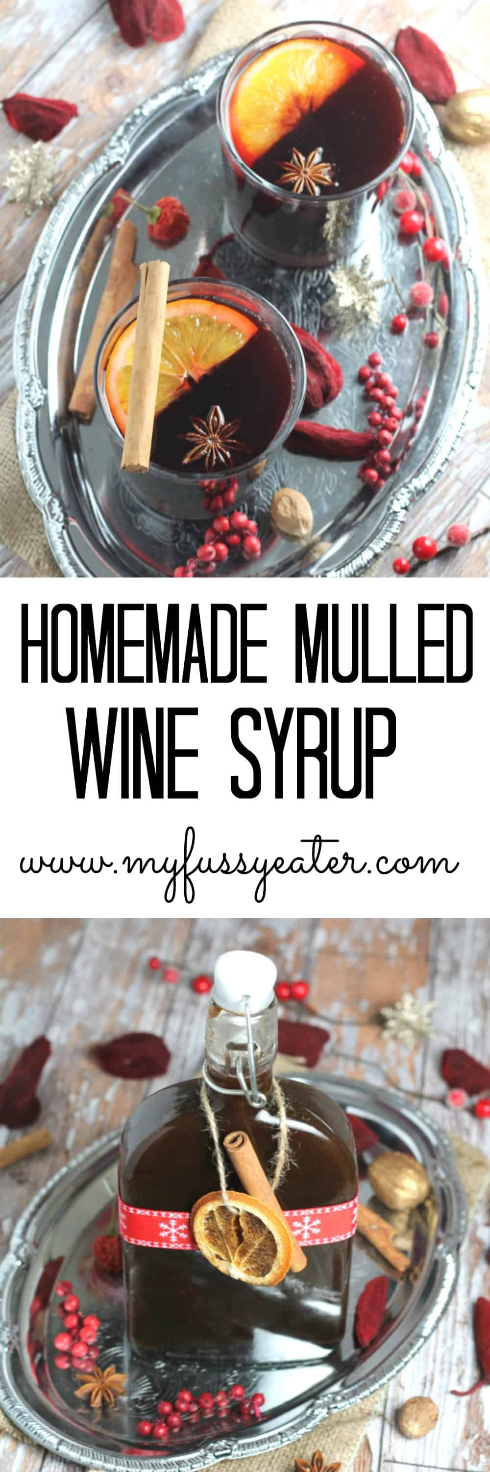 Homemade Clean Eating Mulled Syrup
