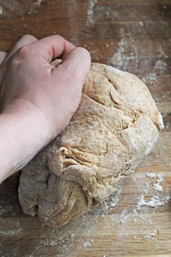 Easy & Freezable Honey Wholemeal Pizza Dough Recipe