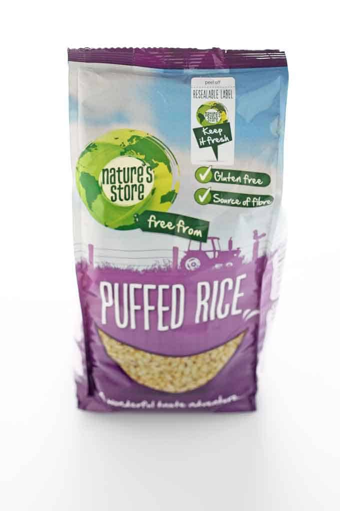 puffed rice healthy treats