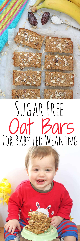 Sugar Free Dress: Sugar Free Flapjacks For Baby Led Weaning