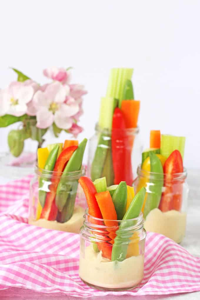 A child friendly hummus recipe served with crudites. Perfect for snacks and picnics   My Fussy Eater Blog
