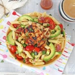 Avocado-Bacon-Pasta-Salad-with-Honey-Mustard-Chicken_006