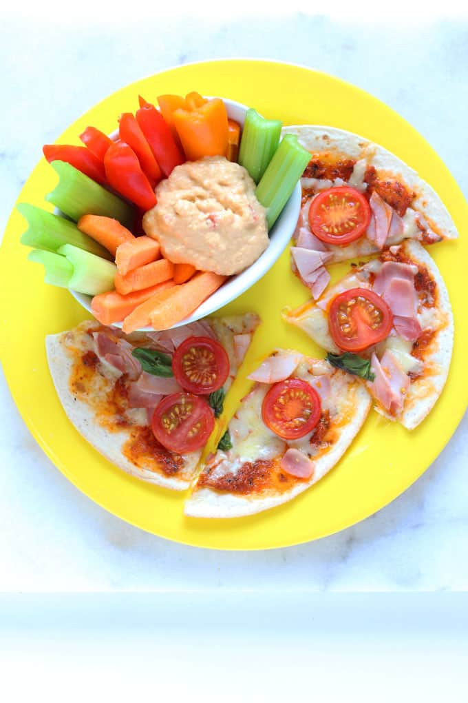 Got hungry screaming kids? Whip up dinner in no time with my super speedy 5 Minute Pizza recipe   My Fussy Eater blog