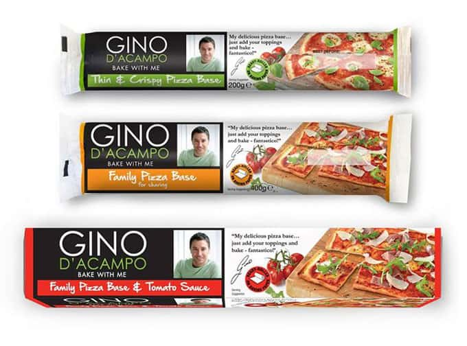 Gino d'Acampo Bake Me With Pizza Bases