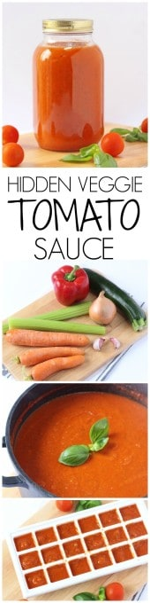 Got a veggie hating family? Try my Hidden Veggie Tomato Sauce, perfect for pastas pizzas and much more!   My Fussy Eater blog