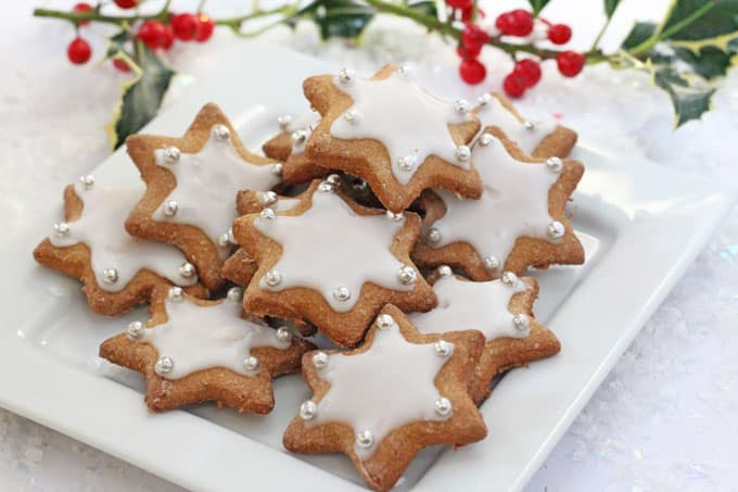 Healthier Gingerbread Star Cookies - My Fussy Eater