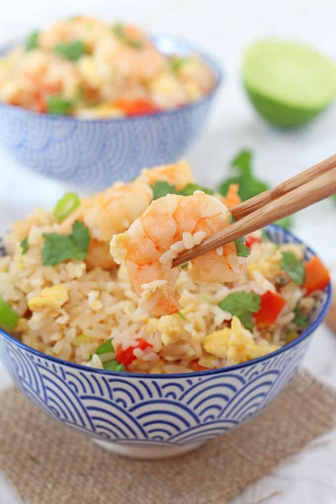 Easy thai prawn fried rice my fussy eater healthy kids recipes next time youre tempted to reach for the takeaway menu try this delicious ccuart Images