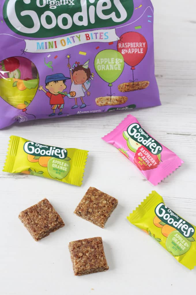 Check out the delicious new range of Organix Goodies snacks, perfect for your little ones to crunch and munch!
