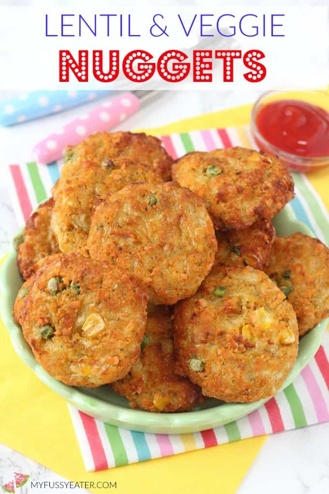 Lentil veggie nuggets my fussy eater healthy kids recipes delicious veggie nuggets packed with lentils these make brilliant finger food for kids and toddlers forumfinder Gallery