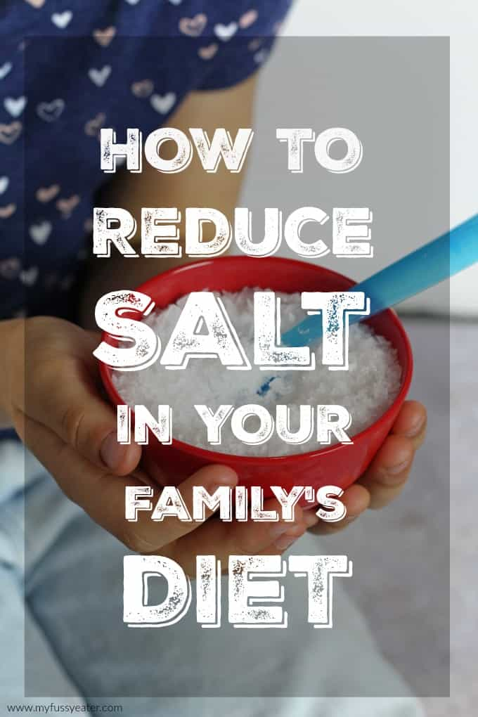 Top tips for reducing salt in your family's diet
