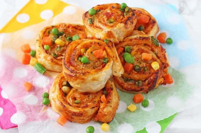 Veggie Pizza Roll Ups My Fussy Eater Healthy Kids Recipes