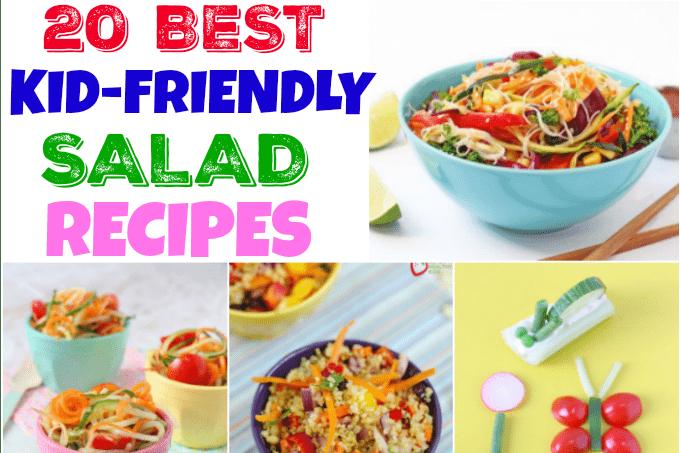 Top 20 Kid Friendly Salad Recipes My Fussy Eater Healthy Kids Recipes