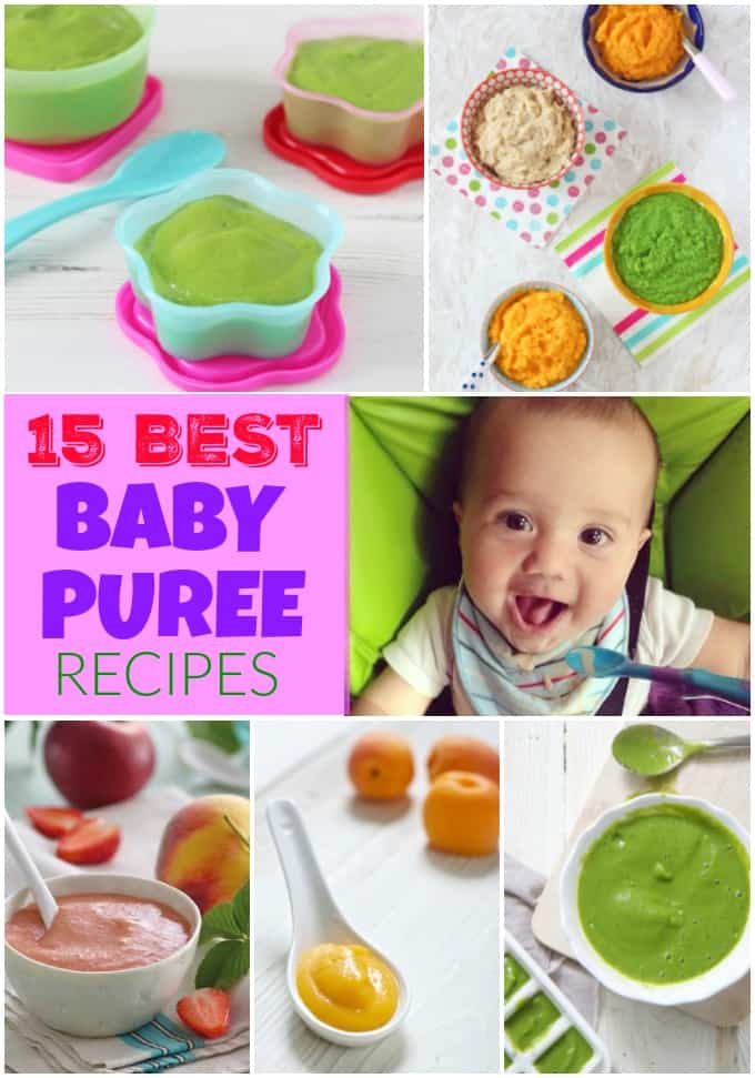 15 of the best Baby Puree Recipes | Baby Weaning