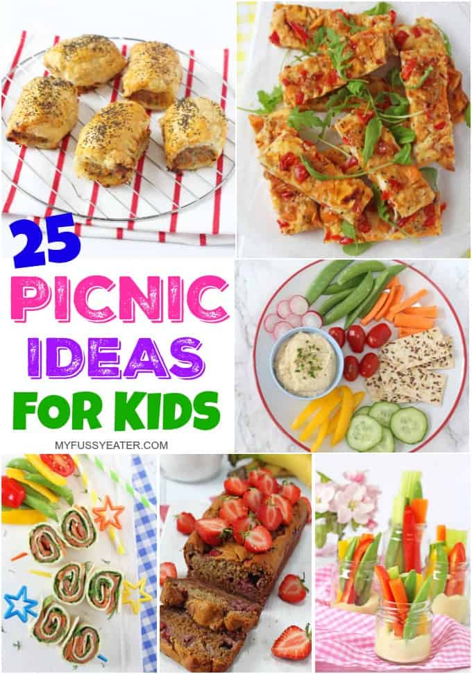 25 of the best picnic food ideas for kids my fussy eater healthy