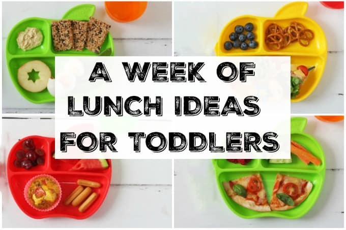 a week of lunch ideas for toddlers   my fussy eater