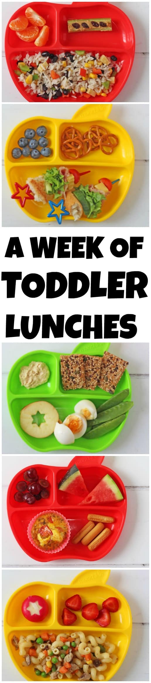 Seven Quick Easy And Healthy Lunch Ideas You Can Feed Your Toddler This Week
