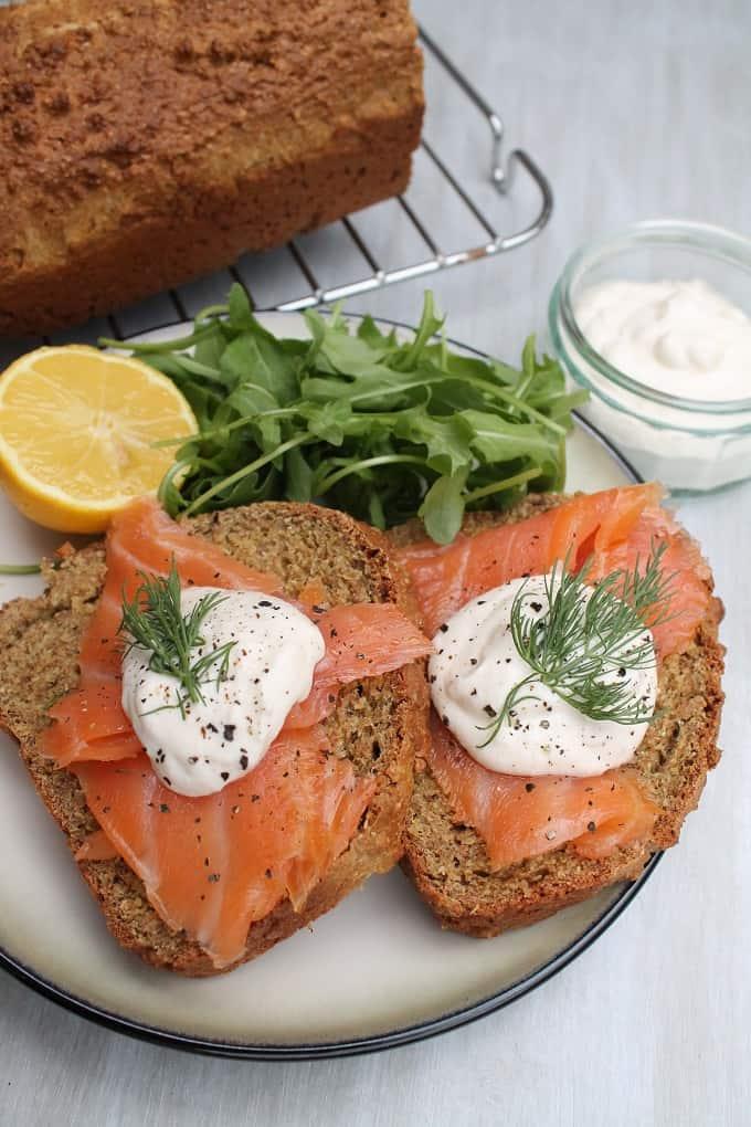 Irish Soda Bread With Smoked Salmon And Horseradish Sauce My Fussy Eater Easy Kids Recipes