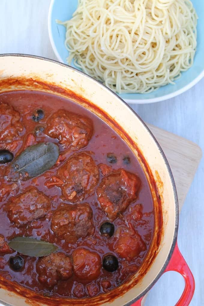 Beef meatball recipe