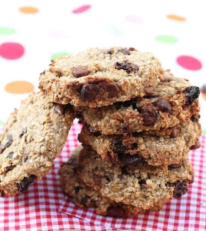 oat and banana breakfast cookies