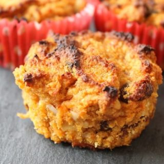 Sweet Potato and Carrot Muffin