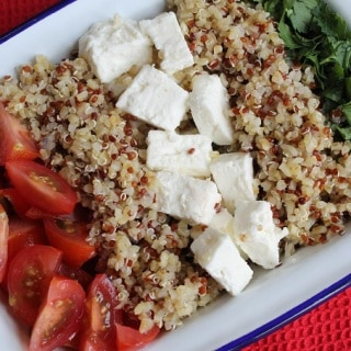 Tabbouleh with Quinoa & Feta
