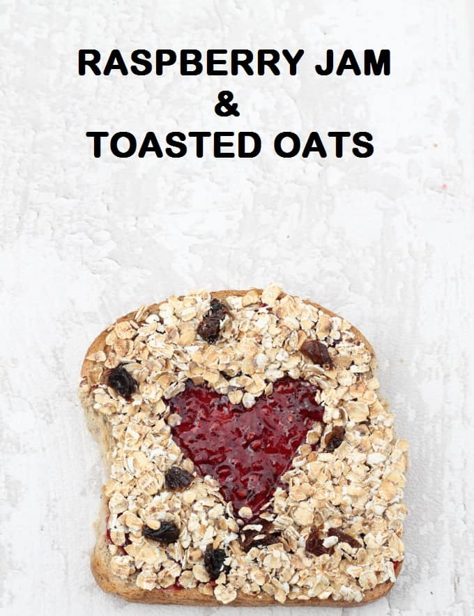 jam and toasted oats toast | my fussy eater