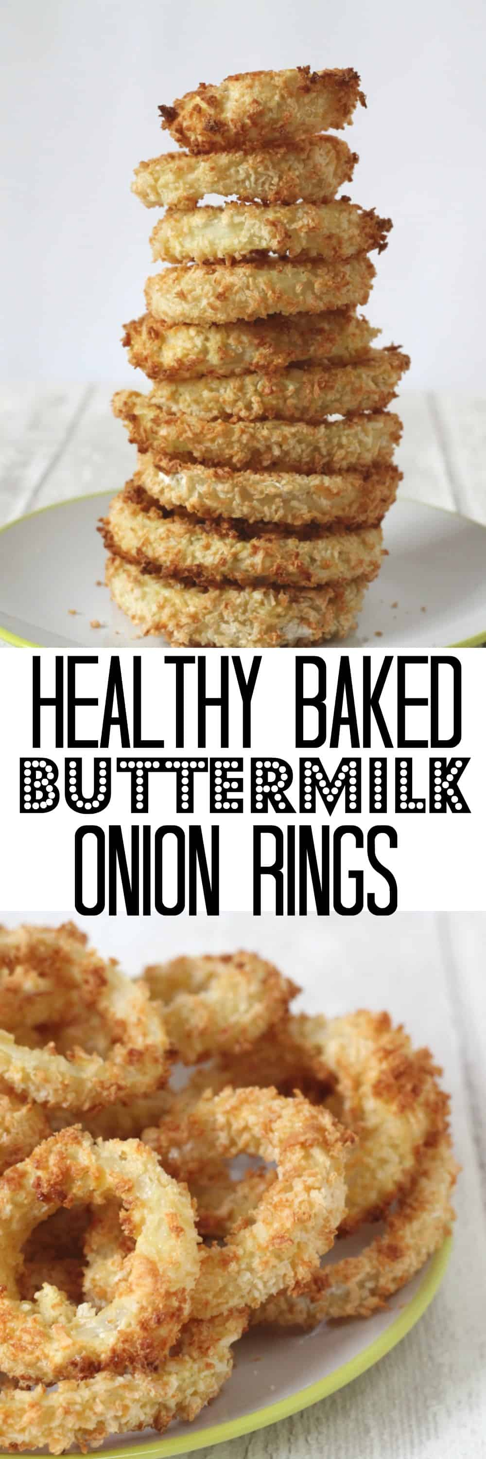 healthy baked buttermilk onion rings