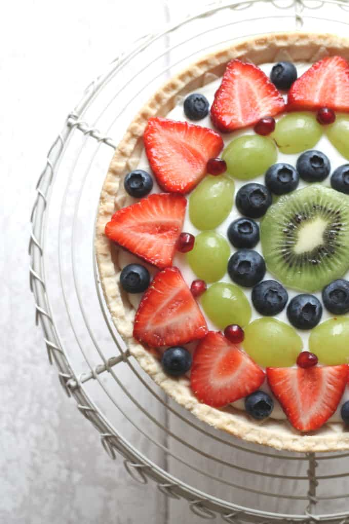 Shortcrust Pastry Tart with Fruit