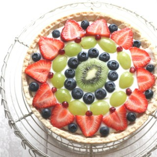 fresh fruit tart sweet shortcrust pastry