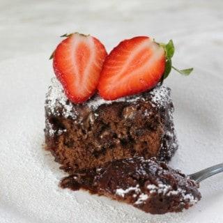 Nutella Microwave Mug Cake