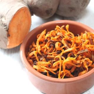 Sweet Potato Curly Fries