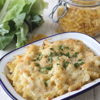 Macaroni Cheese with Secret Cauliflower