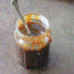 no butter salted caramel sauce