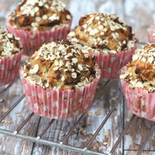 pear and oat breakfast muffins gluten free