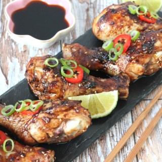 Sweet & Sticky Chilli Chicken Drumsticks