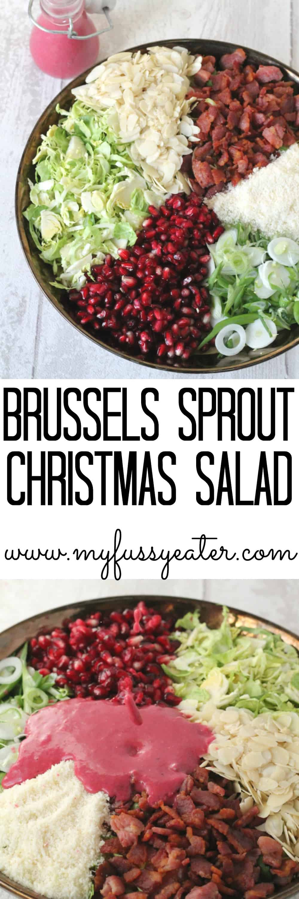 brussels sprouts christmas salad pinterest pin