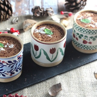 Mint Hot Chocolate {Dairy Free}