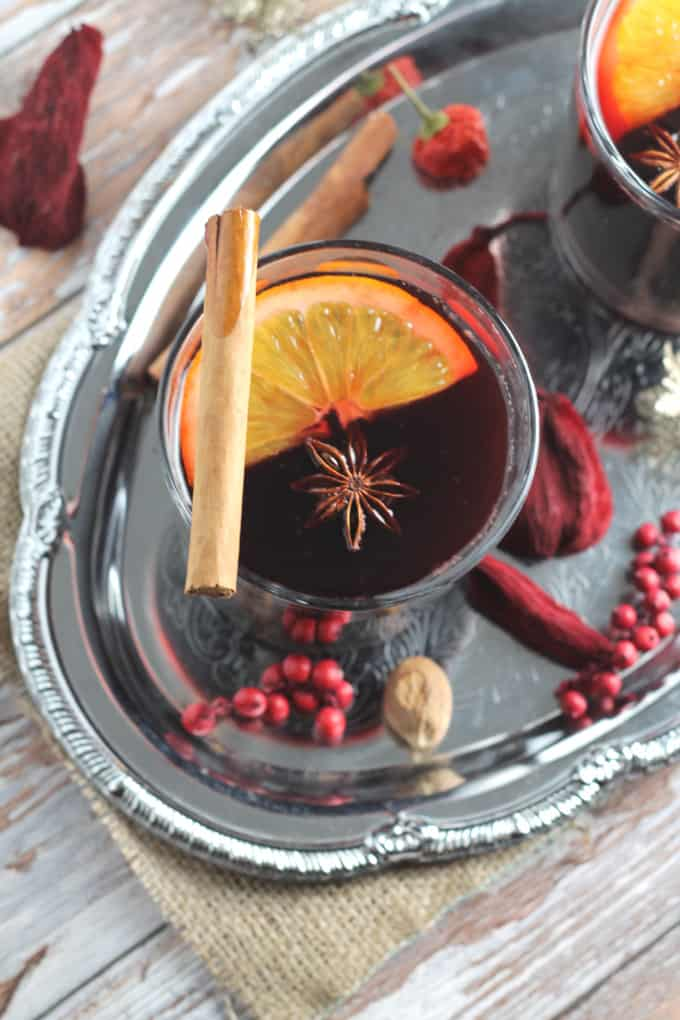 homemade mulled wine syrup clean eating