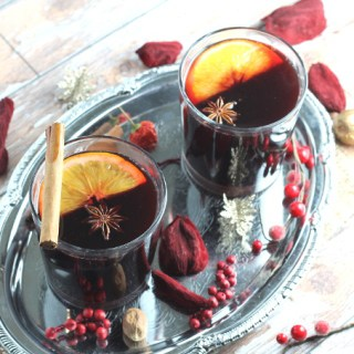 no refined sugar homemade mulled wine syrup