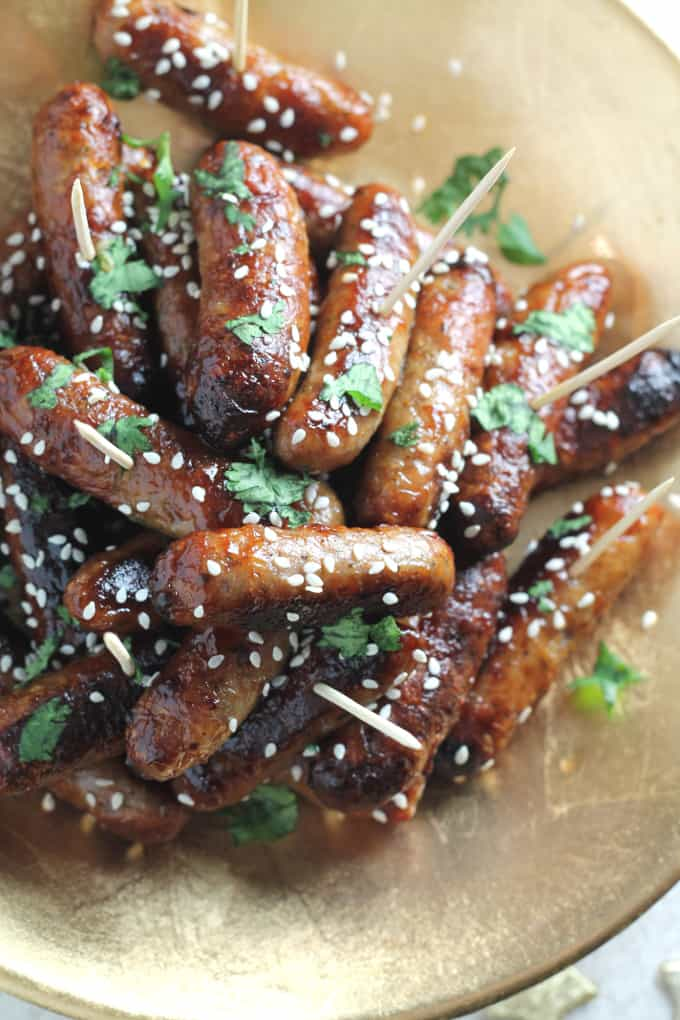 asian sausages party food