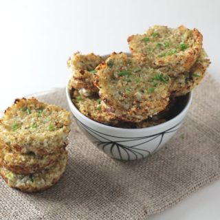 grain free cauliflower cheese quinoa bites